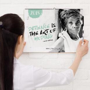 one day, aschaffenburg, kalender, benefiz, charity, afrika